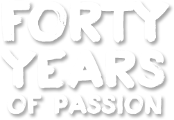 Forty years of passion